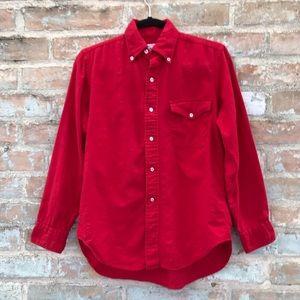 Vintage Brooks Brothers Men's Wool Flannel Shirt
